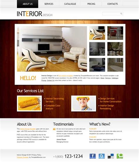 50 Interior Design Furniture Website Templates Freshdesignweb Furniture Website Templates Free