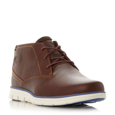mens timberland boots white sole timberland a11br white wedge sole chukka boots in brown
