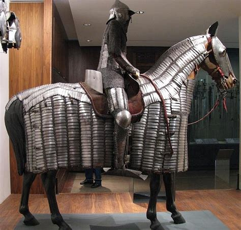ottoman cavalry ottoman mail and plate armor for horse and soldier this