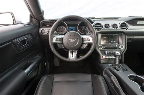 2015 ford mustang ecoboost interior car wallpaper