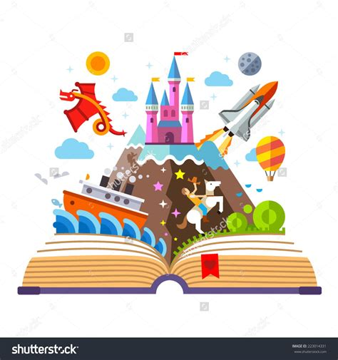 libro art the whole story water color open book with a castle google search read to believe open book
