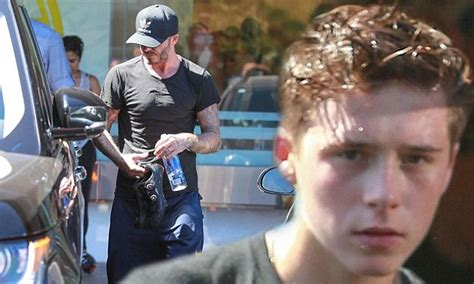 Beckham 3 In 1 3313 david beckham takes to la spin class daily mail