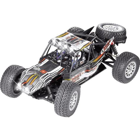 Ferngesteuertes Auto 100 Km H by Reely Dune Fighter Brushless 1 10 Rc Modellauto Elektro