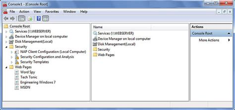 policy management console windows 7 image gallery microsoft management console in windows 7