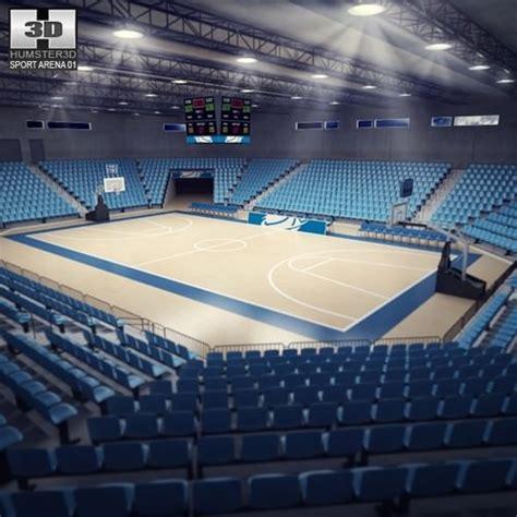 3d Logo Arema 3d model basketball arena cgtrader