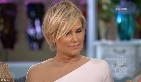 did yolanda foster cut hair real housewives reunion sees lisa rinna throws lisa