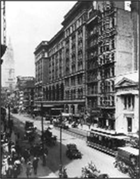 City Of Philadelphia Records 12th And Market Streets 1914 Photographer Unknown From Philadelphia Department Of