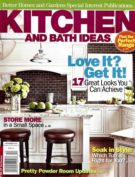 kitchen and bath ideas magazine featured in kitchen and bath ideas