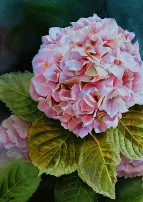 best 25 hydrangea painting ideas on paint flowers painting flowers and painting