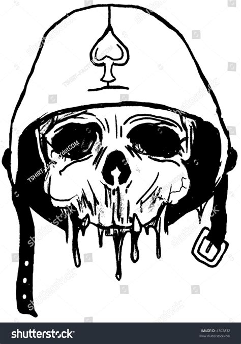 army skull coloring pages army skull stock vector 4302832 shutterstock