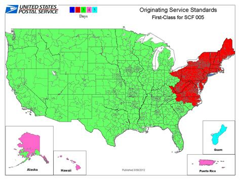 area code us islands how the new service standards may much more mail