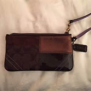 Coach Patchwork Wristlet - 67 coach clutches wallets coach patchwork