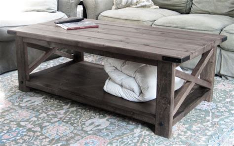 Ana White Coffee Table Ana White Rustic X Coffee Table Diy Projects
