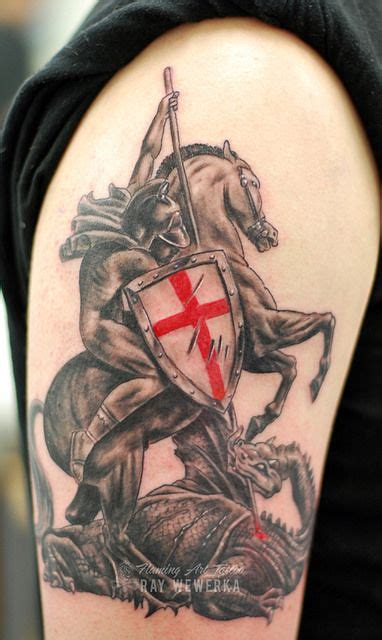 st george tattoo st george and the my style