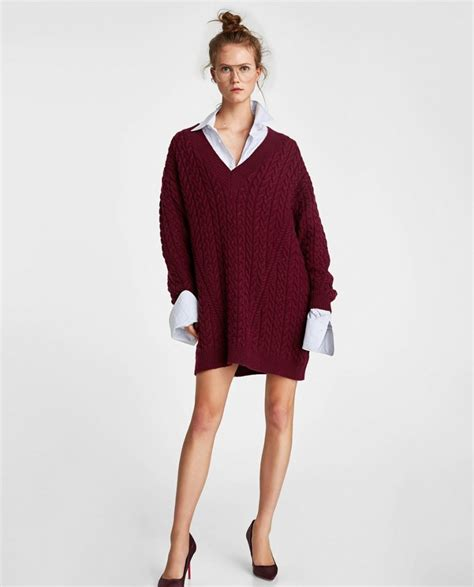 Robe En Pull Zara - robe pull l incontournable de nos hivers la grande mode