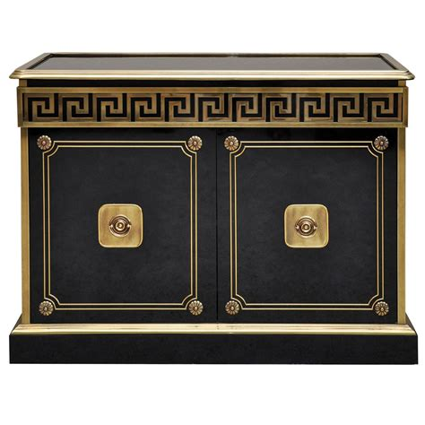 black and gold buffet ls mastercraft greek key credenza credenza greek and key