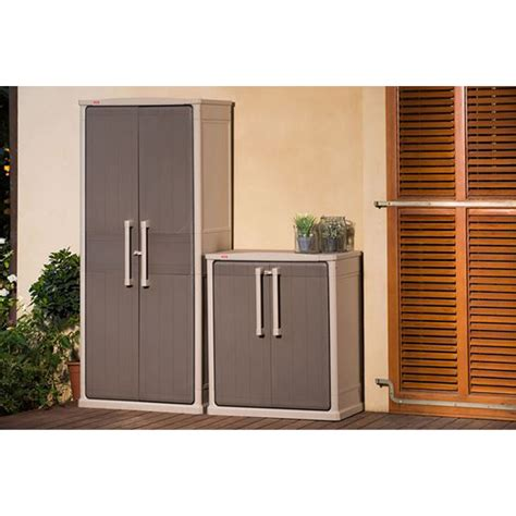 keter optima outdoor storage cabinet indoor 1 8 m