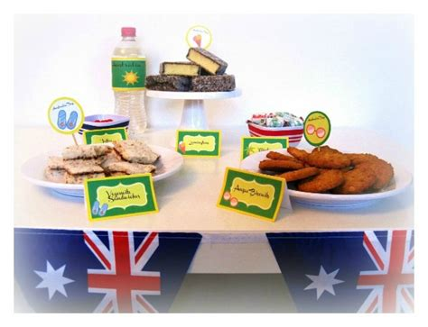 australian themed events australia day themed party party printables