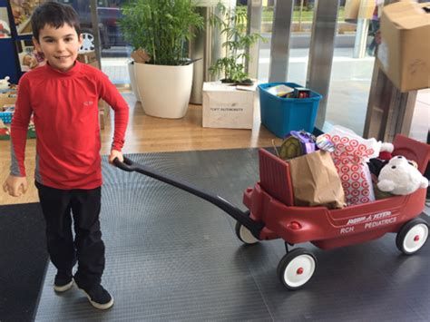 red tricycle toy drive