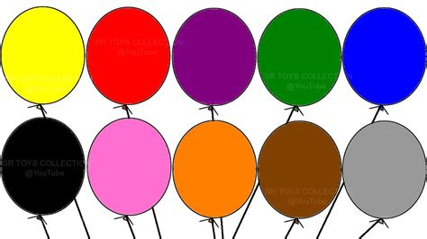 learning colors learning colours with quot balloon colouring page quot children s