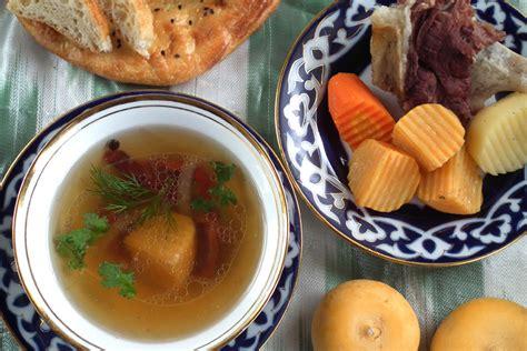 uzbek national cuisine main courses uzbek soups