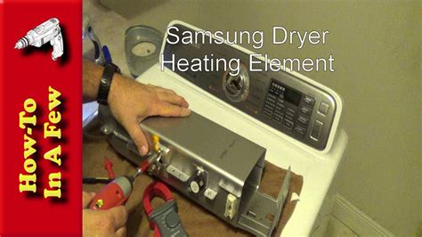 how to replace your samsung dryer heating coil