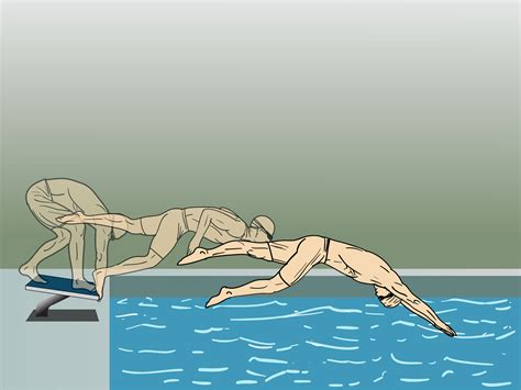 how to dive how to dive a starting block wikihow