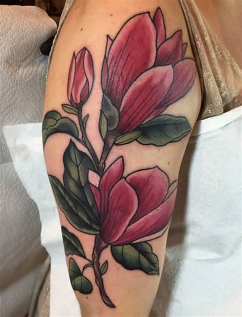 tattoo magnolia flower 70 magnolia flower tattoo design ideas nenuno creative