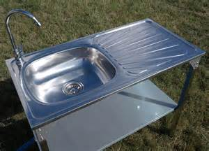 Camping Kitchens With Sinks by Outdoor Kitchen Sink Camping Unit Portable Folding Ideal