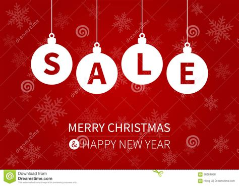 merry christmas sale promotion display poster postcard stock vector image