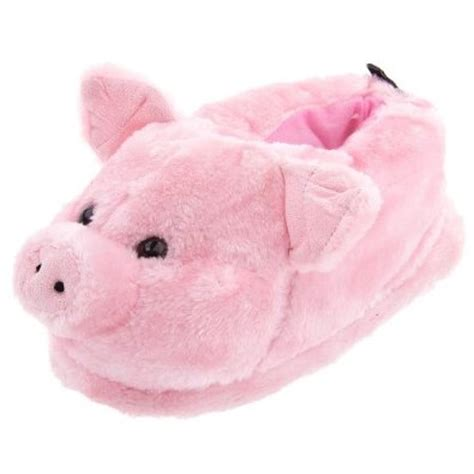 pig slippers pink pig animal slippers for and shoes