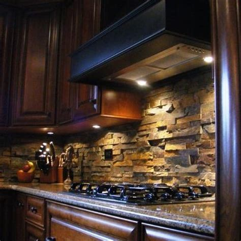 stack stone ledger panels backsplash tile pinterest rock backsplash ledger stone from roca tile ℑ n t e r