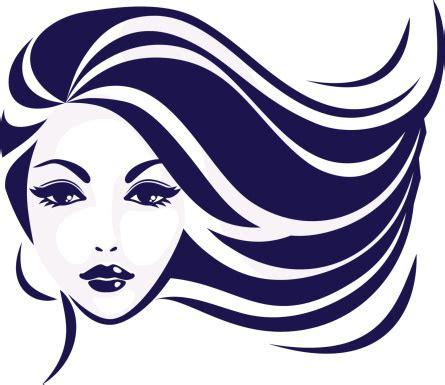 icon hair girls face vector art | thinkstock