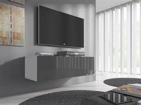 tv meubel flame bol tv meubel flame 5 mini grijs wit 100 cm