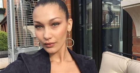 bella hadid beauty interview british vogue