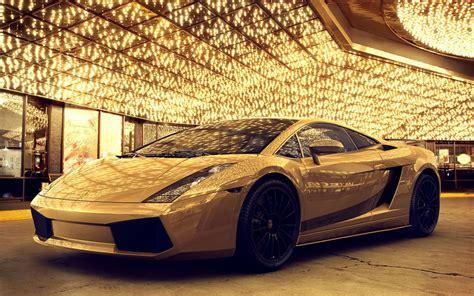 Gold Lamborghini Gallardo Wongseng Hd Wallpapers Gold Lamborghini Gallardo Hd Wallpaper