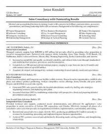 Business Development Consultant Description by Resume Templates And On Regarding Sle