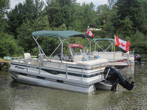 used pontoon boats okanagan 2008 pontoon boat sault ste marie sault ste marie