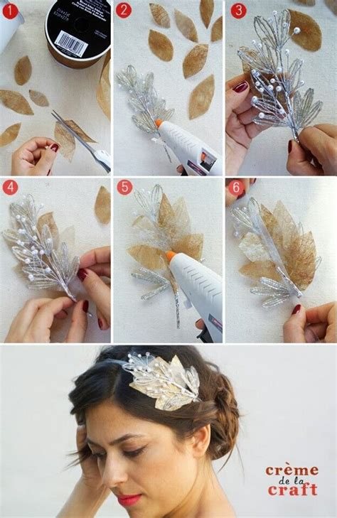 Wedding Hair Accessories Make Your Own by 18 Ideas For Diy Fashion Crafts Styles Weekly