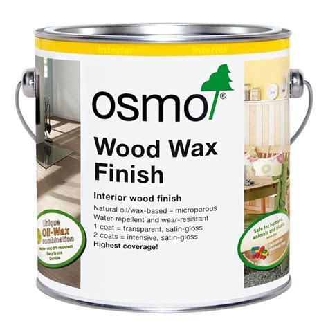 osmo wood wax finish transparent  venture products