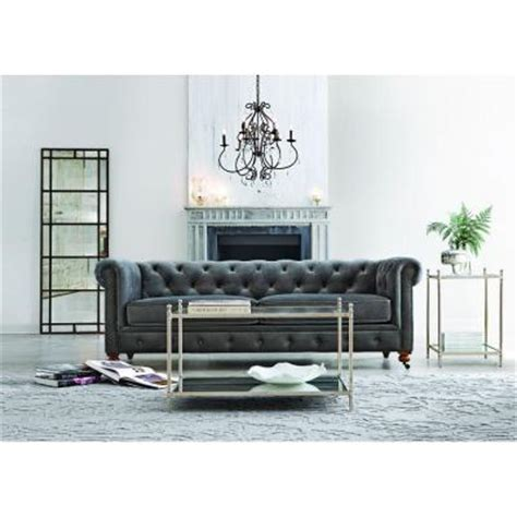 home decorators gordon sofa home decorators collection gordon 1 piece sofa in grey