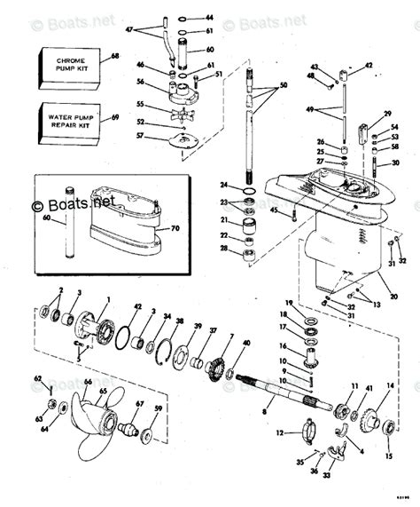 boats net evinrude parts evinrude outboard parts by hp 35hp oem parts diagram for