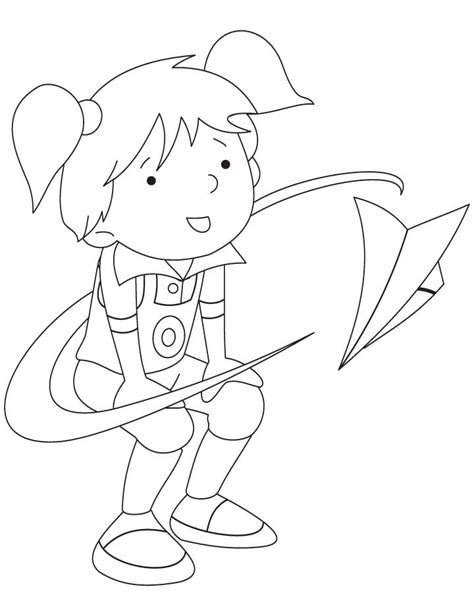 coloring pages of paper airplanes paper airplane coloring pages kids coloring page gallery