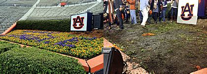 auburn fans in bushes remembering quot kick six quot cbssports com