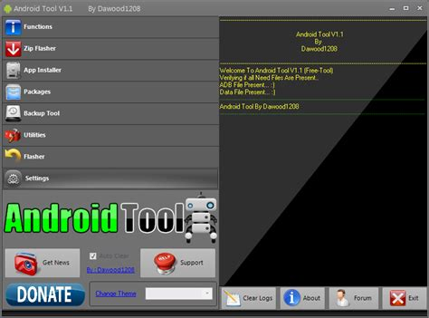 tools for android free firmware rom aplikasi android tool by dawoo1208 v1 1