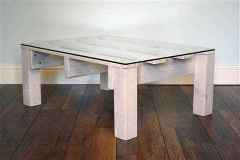 Diy Glass Top Coffee Table Diy Pallet White Coffee Table With Glass Top Pallet Furniture Diy