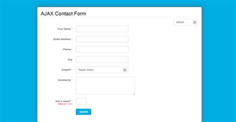 tutorial php contact form simple php contact form with ajax exle php zone