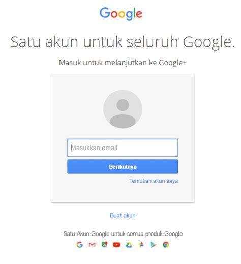 membuat akun google mudah cara mudah membuat akun google plus google terbaru