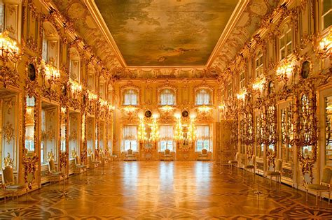 White Dining Room Sets by Grand Palace Peterhof St Petersburg