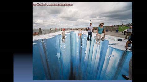 imagenes en 3d en el piso increible pinturas 3d sobre el suelo hiper realistas
